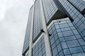 Rappeling Business Skyscraper