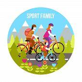 Постер, плакат: Sport Family Concept