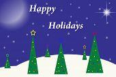Happy Holidays background