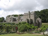 Compton Castle In Devon