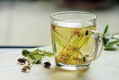 Tea with lime