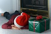 Sleeping Christmas Boy