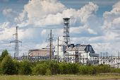 Постер, плакат: Chernobyl power plant
