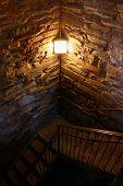 Dark Creepy Stairwell