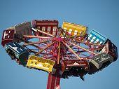 Upside down of fair ride
