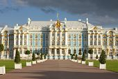 Catherine Palace in Tsarskoe Selo, Russia