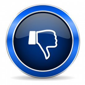 pic of dislike  - dislike icon thumb down sign