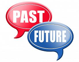 pic of past future  - past future prediction and forecast near future fortune telling and forecast evolution and progress  - JPG