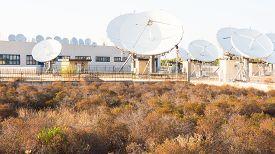 image of antenna  - teleport satellite communications - JPG