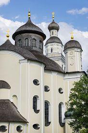 foto of scourge  - Picture of pilgrimage church Maria Birnbaum in Germany Bavaria - JPG