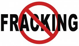 foto of bans  - stop fracking ban shale gas and hydraulic or hydrofracking - JPG