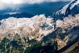 foto of italian alps  - Scenic Italian Alps - JPG