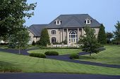 stock photo of million-dollar  - This beautiful home is worth well over a million dollars - JPG