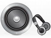 Speaker And Headphones