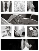 Wedding Collage Collection In Black And White