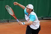 Denis Gremelmayr (ger) At Roland Garros 2011