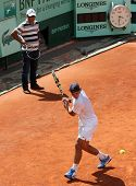 Rafael And Tony Nadal (esp) At Roland Garros 2011