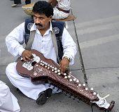 Pakistanische Volksmusiker