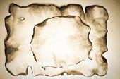 Burnt Old Paper