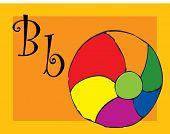 alphabet - b - ball