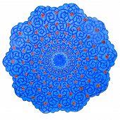 Traditional Iran Plate