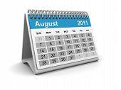 Calendar 2011 - August