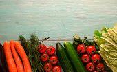 Fresh Vegetables.   Healthy Food poster