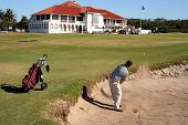 Bunker Golf Shot
