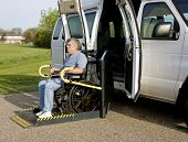 Handicap Wheelchair Lift