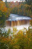 Tahquamenon Falls and autumn colors