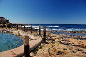Ocean Pool In Rocky Shore
