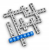 Estrutura de Webinar Crossword