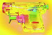 Retro Toy Squirt Gun poster
