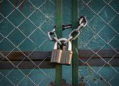 Padlock With Chain