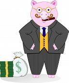 Banker Pig