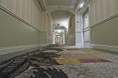 Perspective Hotel Corridor View