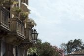 Architecture Taormina Sicily poster
