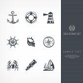 Nautical Sign poster