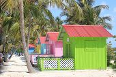 image of beach hut  - The private island - JPG