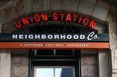 Union Station Sign