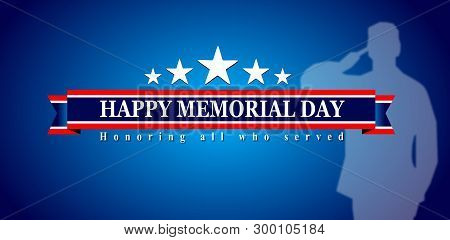 poster of Happy Memorial Day, Veterans Day Of Usa