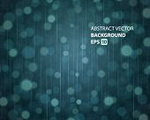 Abstraktion Licht und Regen vector Background. EPS 10.
