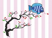Twitting Fish In Love