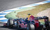 Mark Webber F1 Test Jerez 2012