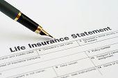 Declaração de seguro de vida