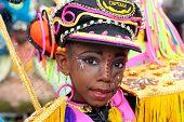 Mujer Carnaval capitán