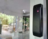 The Security Of Reader Tag Mifare Or Rfid Card Security Of Access Control Install For Door And Gate  poster
