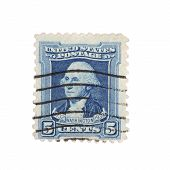 Washington Postage Stamp 1932
