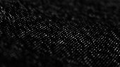 Halftone Pattern. Black And White Composition.v Glitch Background. Gradient Design Background. Abstr poster