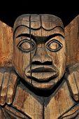 Totem in Duncan BC